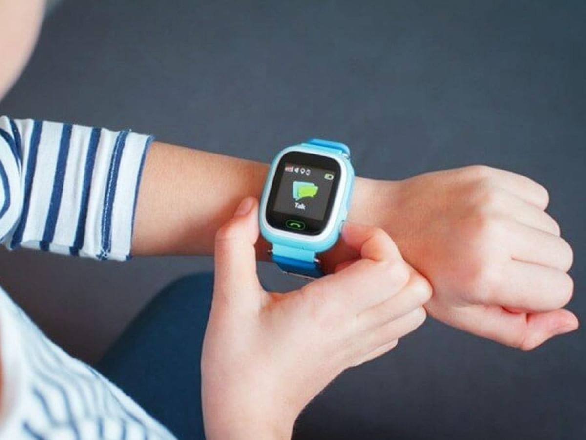Детские часы с GPS трекером Q50
